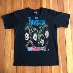 Beatles Rubber Soul Embroidered T By Rock & Death